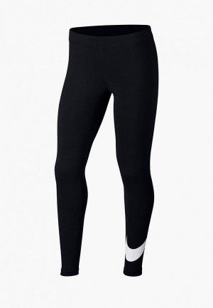 Леггинсы Nike SPORTSWEAR GIRLS TIGHTS. Цвет: черный