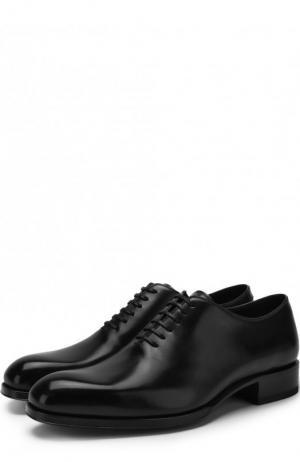 Кожаные оксфорды Tom Ford. Цвет: чёрный