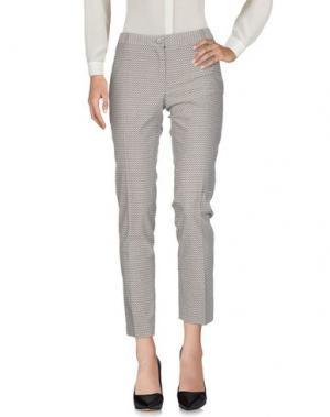 Повседневные брюки AND. Цвет: стальной серый