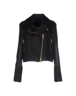 Куртка EMANUEL UNGARO. Цвет: черный