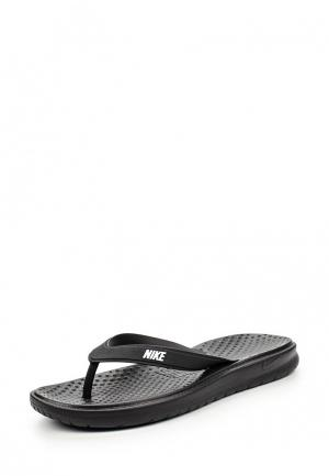 Сланцы Nike Mens Solay Thong. Цвет: черный