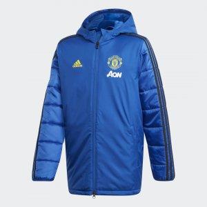Куртка Манчестер Юнайтед Winter Performance adidas. Цвет: черный
