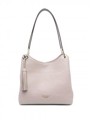 Большая сумка-тоут Loop Kate Spade. Цвет: нейтральные цвета