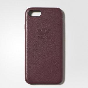 Чехол для смартфона Leather iPhone Originals adidas. Цвет: бордовый
