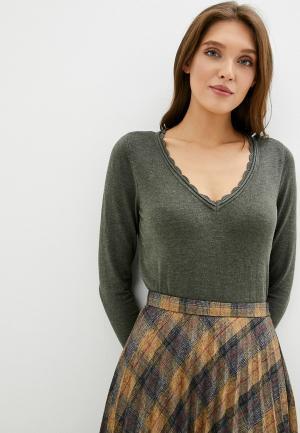 Пуловер Naf. Цвет: хаки