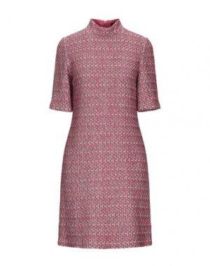 Короткое платье ST. JOHN. Цвет: коралловый