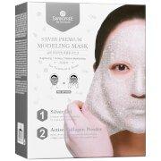 Маска-пленка для лица SHANGPREE Silver Premium Modeling Mask 50 мл с миской и шпателем