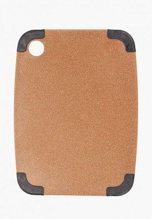 Доска разделочная Walmer Eco Chop, 23х30 см. Цвет: коричневый