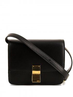 Маленькая каркасная сумка на плечо Céline Pre-Owned. Цвет: черный