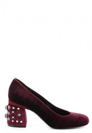 Туфли BALDAN. Цвет: бордовый