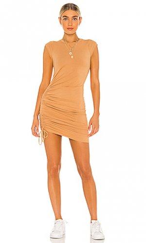 Платье indie LA Made. Цвет: nude