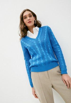 Пуловер Lauren Ralph. Цвет: синий