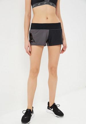 Шорты спортивные Nike WOMENS RUNNING SHORTS. Цвет: серый