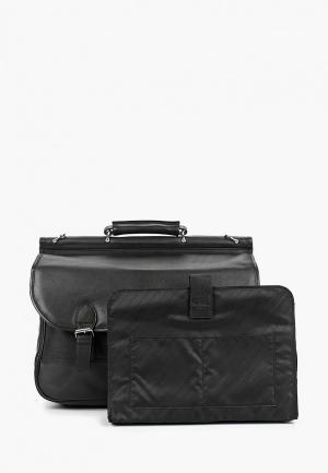 Портфель Dr.Koffer MB. Цвет: черный