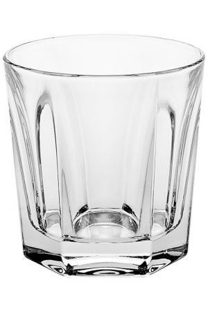 Стакан для виски 250 мл 6 шт. CRYSTAL BOHEMIA. Цвет: белый