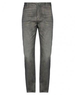 Джинсовые брюки DOCKERS. Цвет: темно-коричневый