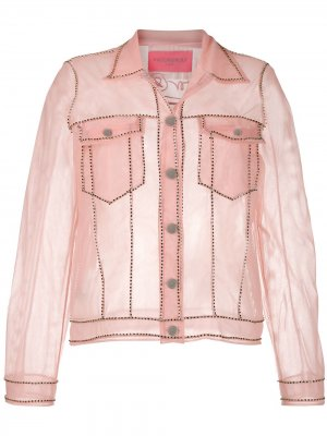 Прозрачная куртка Viktor & Rolf. Цвет: розовый