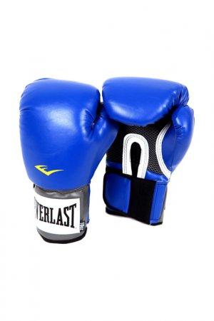 Перчатки PU Pro Style Anti-MB EVERLAST. Цвет: синий