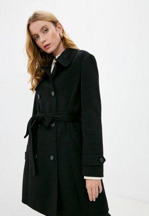 Пальто Lauren Ralph. Цвет: черный