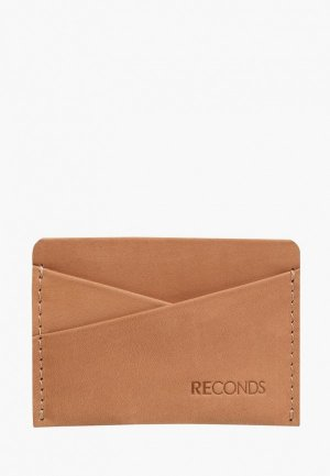 Визитница Reconds Pocket. Цвет: бежевый