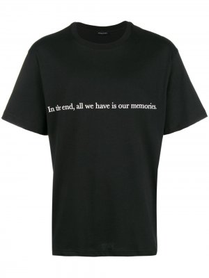 Memories T-shirt Throwback.. Цвет: черный