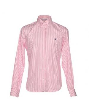 Pубашка BROOKSFIELD. Цвет: розовый