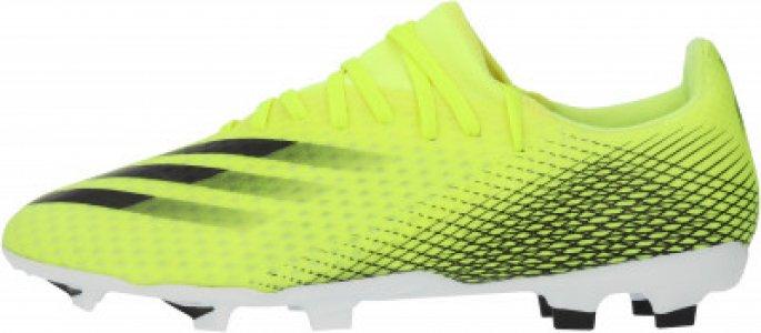 Бутсы мужские adidas X Ghosted.3 FG, размер 39. Цвет: желтый