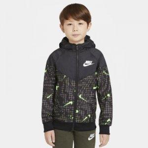 Куртка для мальчиков школьного возраста Nike Sportswear Windrunner - Желтый