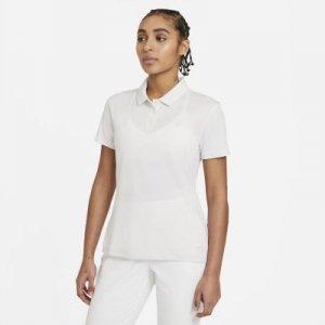 Женская рубашка-поло для гольфа Dri-FIT Victory - Белый Nike