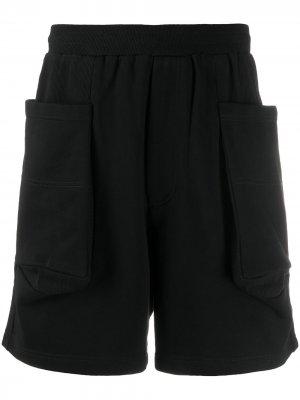 Шорты с карманами Perks And Mini. Цвет: черный