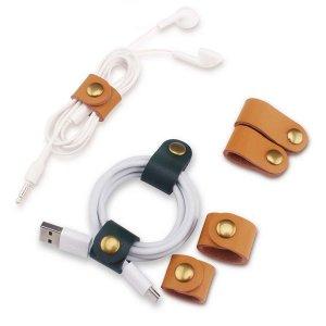 Организатор кабеля передачи данных случайного цвета 10шт SHEIN. Цвет: многоцветный