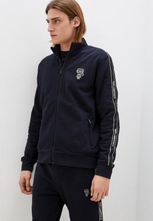 Олимпийка Karl Lagerfeld. Цвет: синий