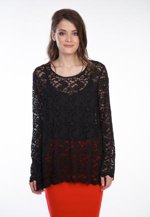 Блуза Irma Dressy. Цвет: черный