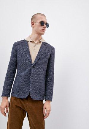 Пиджак Trussardi. Цвет: синий