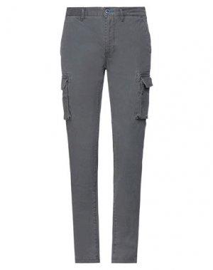 Повседневные брюки FRED MELLO. Цвет: серый