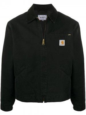 Джинсовая куртка Detroit Carhartt WIP. Цвет: черный