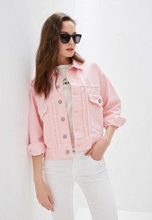Куртка джинсовая OVS. Цвет: розовый
