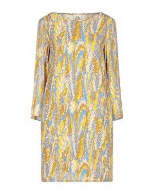 Короткое платье ATTIC AND BARN. Цвет: пастельно-синий