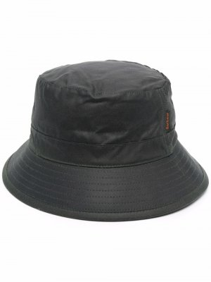 Wax cotton bucket hat Barbour. Цвет: зеленый