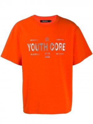 Футболка Youth Core Misbhv. Цвет: оранжевый