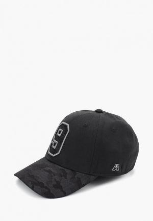 Бейсболка Atributika & Club™ №9. Цвет: черный