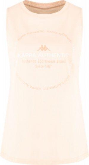 Майка женская , размер 42-44 Kappa. Цвет: розовый
