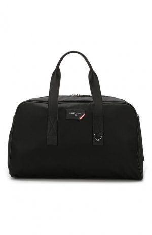 Текстильная спортивная сумка Flynn Bally. Цвет: чёрный