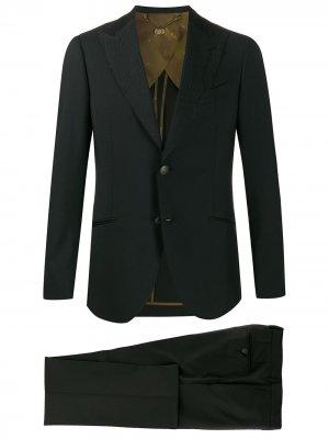 Строгий костюм-двойка Maurizio Miri. Цвет: черный