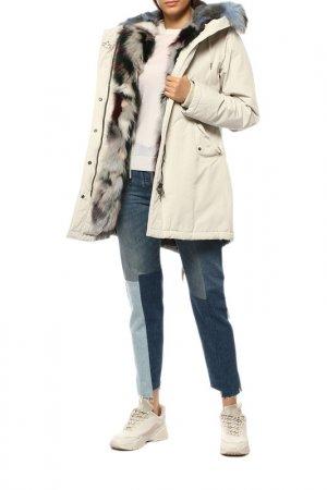 Куртка CANADIAN. Цвет: белый