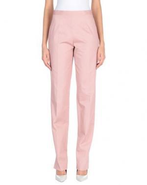 Повседневные брюки ANTONIO FUSCO. Цвет: пастельно-розовый