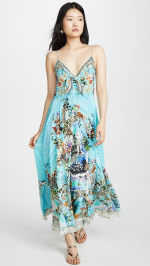 Girl from St Tropez Long Dress Camilla
