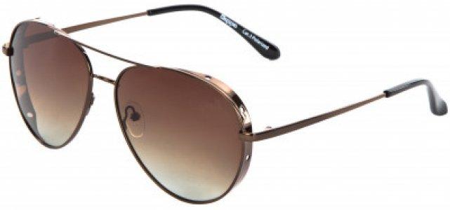 Очки солнцезащитные Kappa. Цвет: коричневый