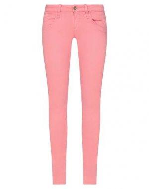 Повседневные брюки FORNARINA. Цвет: розовый