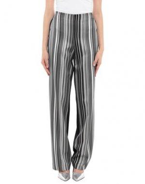 Повседневные брюки EDUN. Цвет: серый